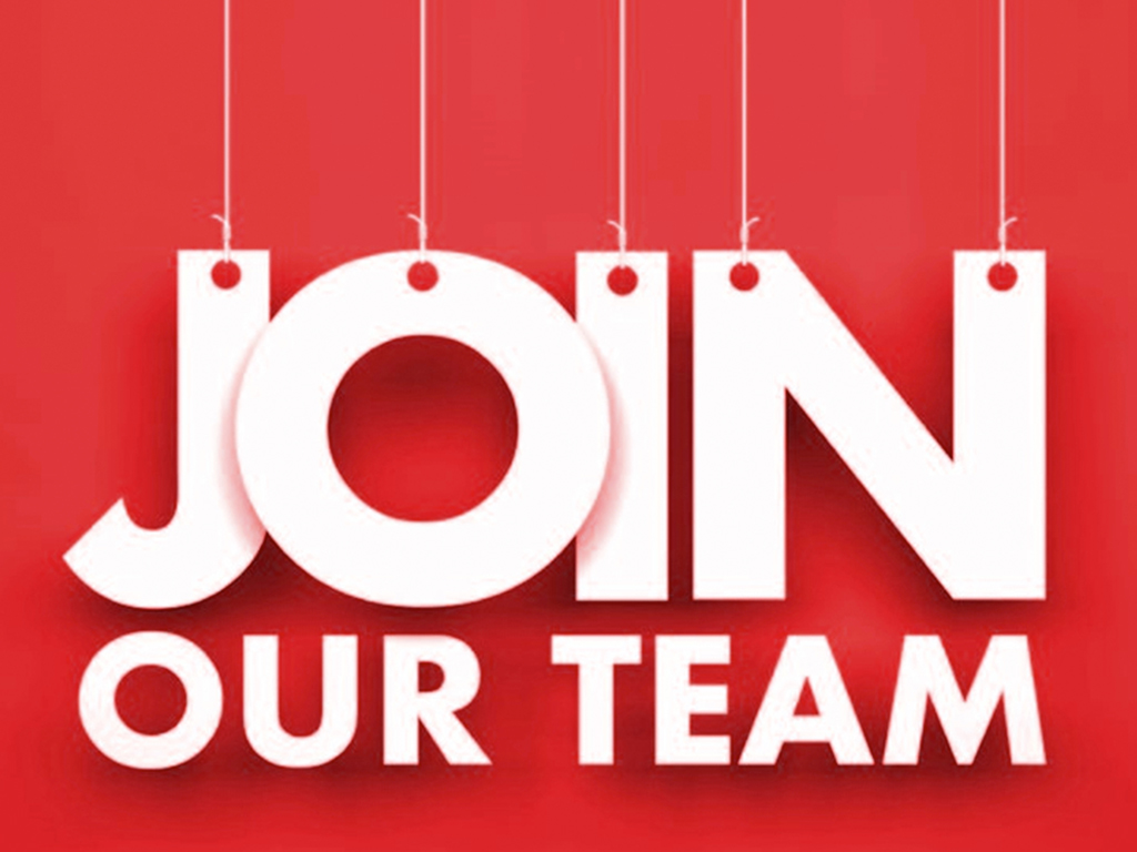 Join our team message